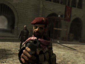CoD4 made fantastic use of the media it was on.