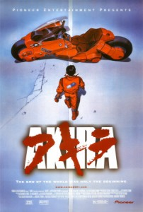 Akira was shocking in the West primarily because of the medium it was presented in.