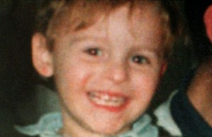 The three year old victim, James Bulger.