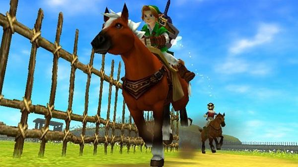 Riding Epona