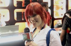 The fantastic Hollie Bennett, previously of Destructoid; talented, knowledgeable and attractive.